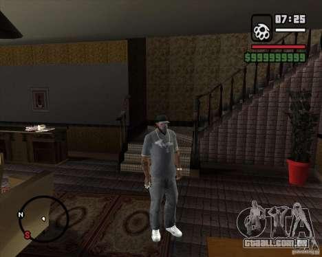Substituindo o CJeâ casa toda para GTA San Andreas segunda tela