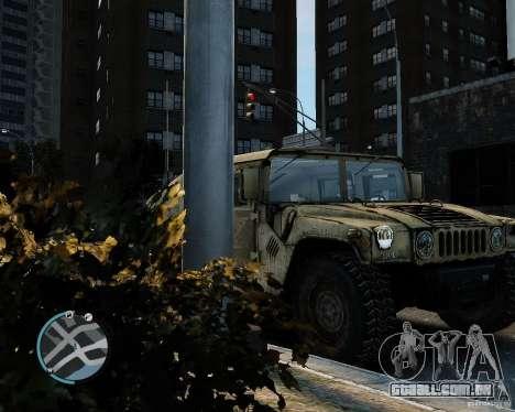 Hummer H1 para GTA 4 vista direita