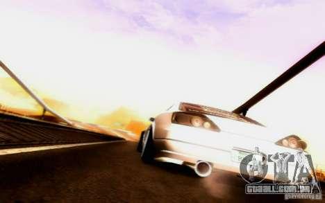 Nissan 150SX Drift para GTA San Andreas vista superior