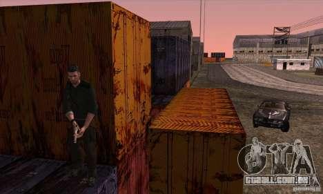 Sam Fisher para GTA San Andreas sétima tela