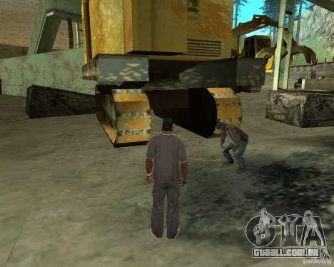 Barney sem-teto para GTA San Andreas sexta tela