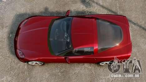Chevrolet Corvette Z51 para GTA 4 vista direita