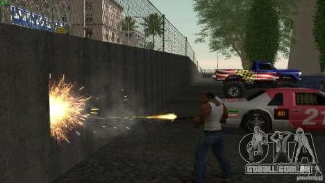 Overdose Effects v1.5 para GTA San Andreas segunda tela