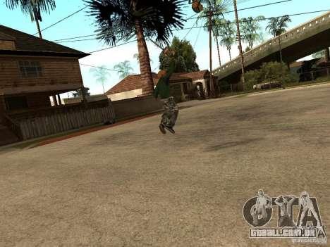 Jogando as lâminas para GTA San Andreas terceira tela