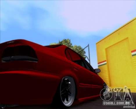 Honda Civic 16 LK 664 para GTA San Andreas vista interior
