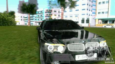 BMW 7-Series 2002 para GTA Vice City deixou vista