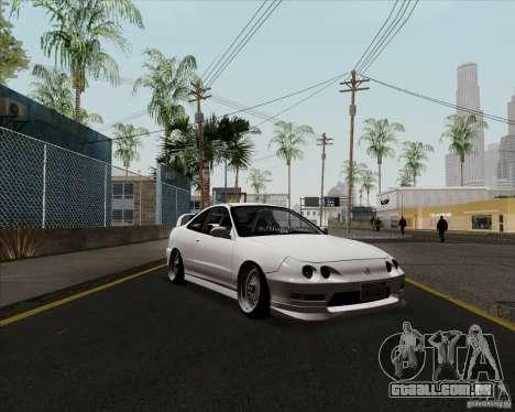 Acura Integra para GTA San Andreas esquerda vista