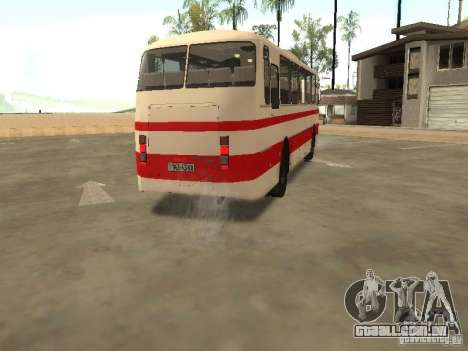 LAZ 699R 98021 para GTA San Andreas vista interior