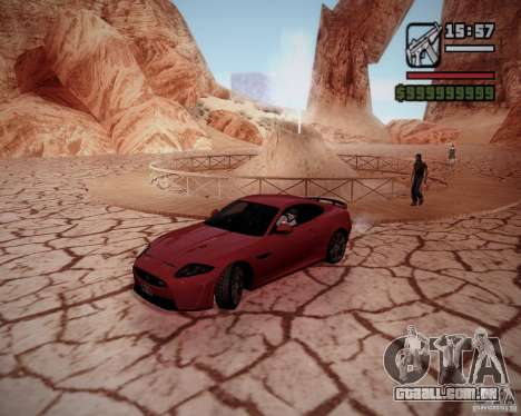 SA DirectX v1.2a para GTA San Andreas por diante tela