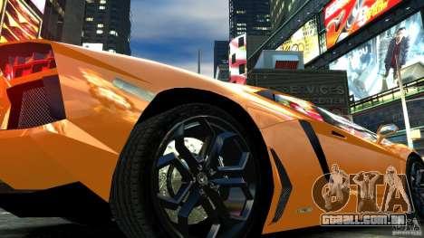 Lamborghini Aventador LP700-4 2011 EPM para GTA 4 vista interior