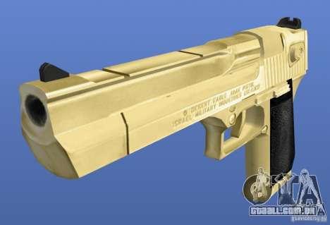 Desert Eagle Retex 1.2 Gold para GTA 4 segundo screenshot