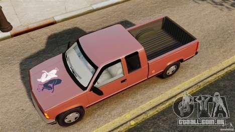 GMC Sierra 1994 para GTA 4 vista direita