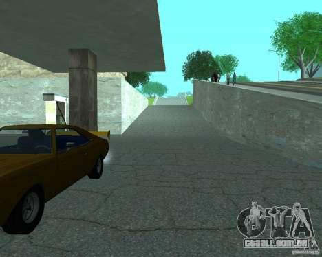 Novo Xoomer. posto de gasolina novo. para GTA San Andreas terceira tela