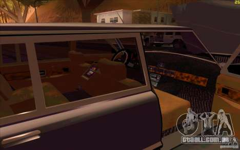 ZIL 41041 para GTA San Andreas vista inferior