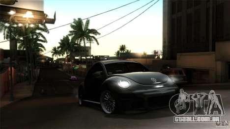 Volkswagen Beetle RSi Tuned para vista lateral GTA San Andreas