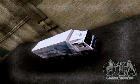 Volvo F10 para GTA San Andreas vista direita