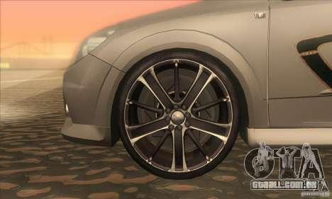 Opel Astra GTC DIM v1.0 para GTA San Andreas vista interior