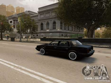 Oldsmobile Cutlass Ciera 1993 para GTA 4 vista superior