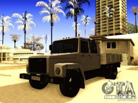Fila dupla de GAZ 3309 para GTA San Andreas
