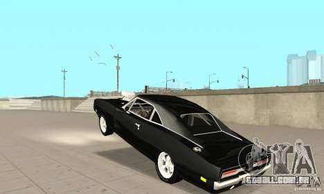 Dodge Charger RT 1970 The Fast & The Furious para GTA San Andreas vista interior