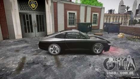 Comet FBI car para GTA 4 esquerda vista