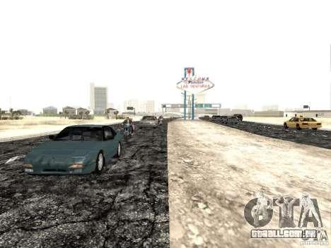New roads in Las Venturas para GTA San Andreas terceira tela