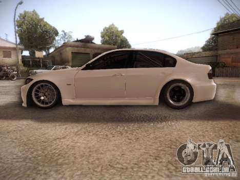 BMW 320SI Drift para GTA San Andreas esquerda vista