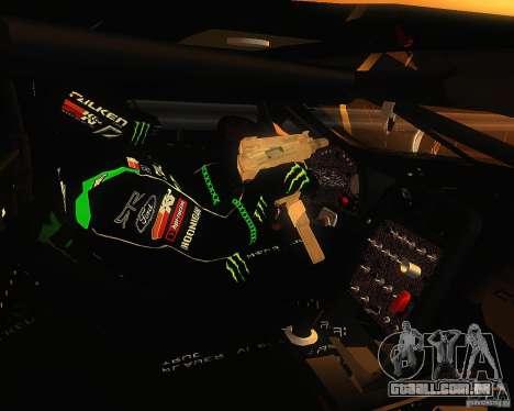 Chevrolet Corvette Drift para GTA San Andreas vista traseira