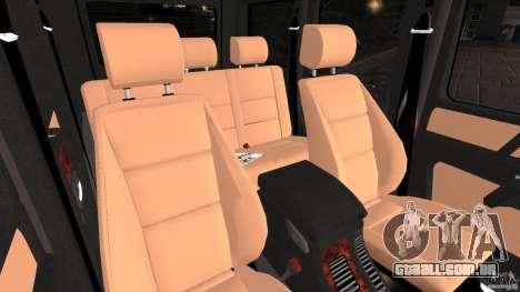 Mercedes-Benz G55 AMG para GTA 4 vista de volta