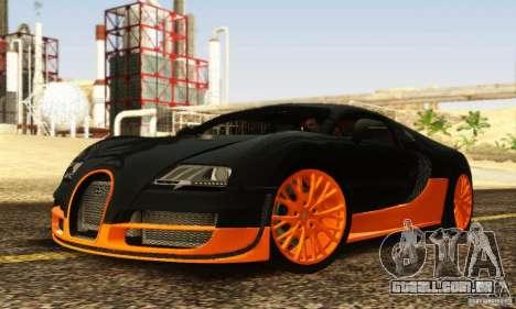 Bugatti Veyron SuperSport para GTA San Andreas