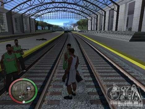 As pessoas da chuva para GTA San Andreas quinto tela