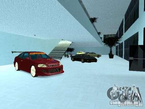 Novo showroom em San Fierro para GTA San Andreas segunda tela