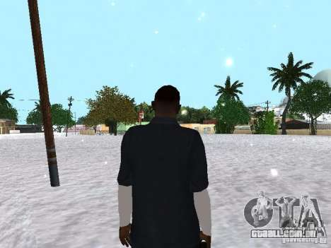 Snow MOD 2012-2013 para GTA San Andreas quinto tela