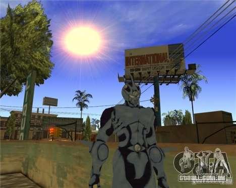 Guyver-I Demo para GTA San Andreas terceira tela