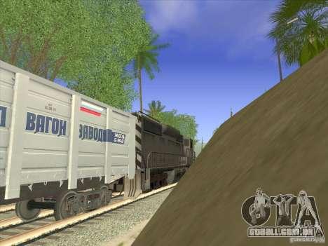 Gôndola carro 12-196-01 para GTA San Andreas