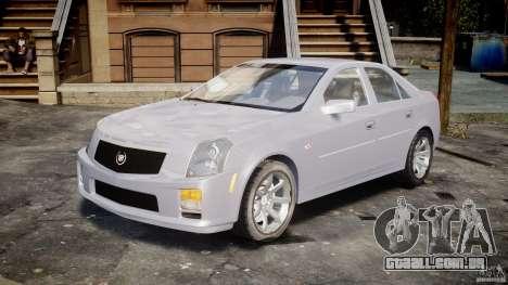 Cadillac CTS para GTA 4 vista de volta