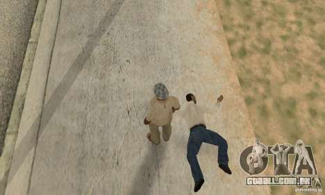 Colisão de GTA 4 para GTA San Andreas