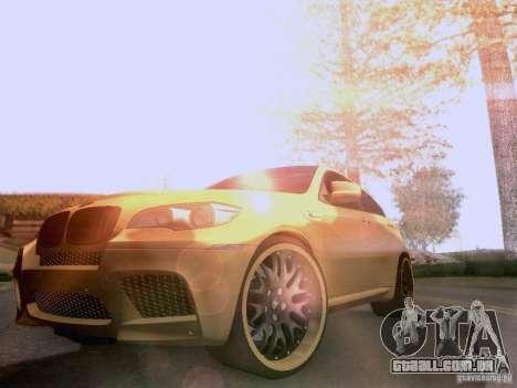 BMW X6M Hamann para o motor de GTA San Andreas