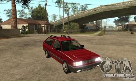 VW Parati GL 1994 para GTA San Andreas vista traseira