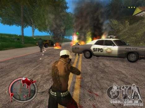 GTA IV HUD Final para GTA San Andreas quinto tela