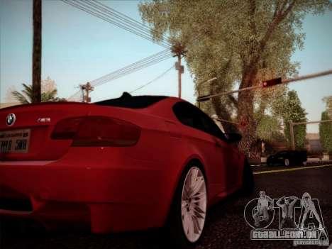 BMW E92 v2 Updated para GTA San Andreas vista direita