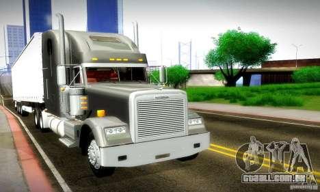 Freightliner Classic XL para vista lateral GTA San Andreas