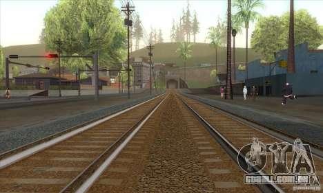 Russian Rail v2.0 para GTA San Andreas segunda tela