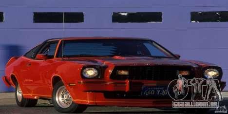 Telas de carregamento, no estilo do Ford Mustang para GTA San Andreas twelth tela