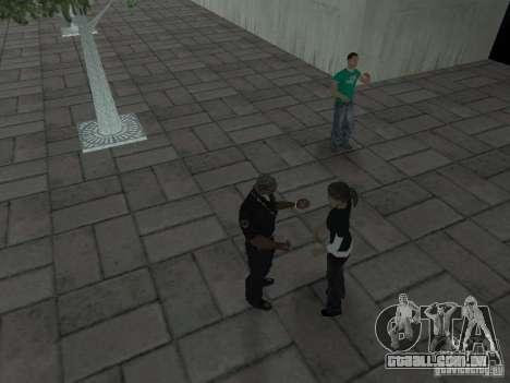 SFnews ou a oportunidade de dar uma entrevista para GTA San Andreas quinto tela
