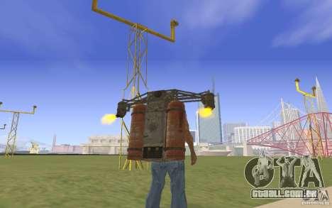 Jetpack no estilo da URSS para GTA San Andreas segunda tela