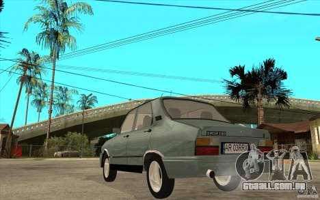 Dacia 1310 L Custom-RK para GTA San Andreas traseira esquerda vista