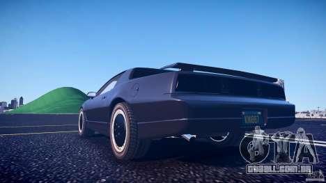 Knight Rider [EPM] para GTA 4 vista inferior