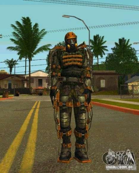 Peles de STALKER para GTA San Andreas sétima tela