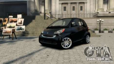 Smart ForTwo 2012 v1.0 para GTA 4